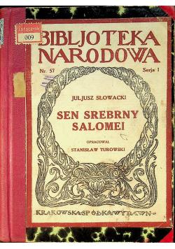Sen srebrnej Salomei 1923 r