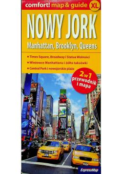 Mapa i przewodnik Nowy Jork  2w1