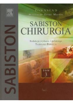 Sabiston Chirurgia Tom 3