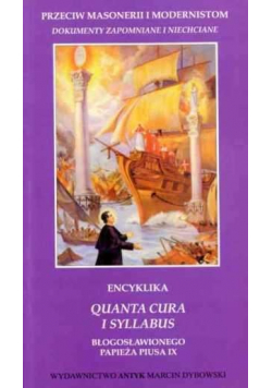 Encyklika Quanta Cura i Syllabus Papieża Piusa IX
