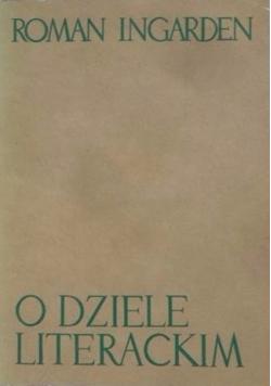 O dziele literackim