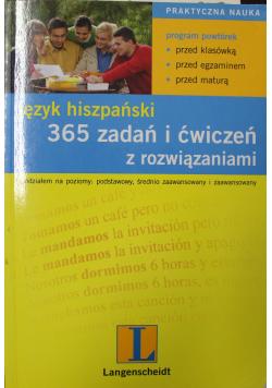 Język hiszpański 365 zadań i ćwiczeń z rozwiązaniami