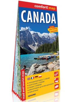 Comfort! map Canada 1:2 500 000 mapa w.2019