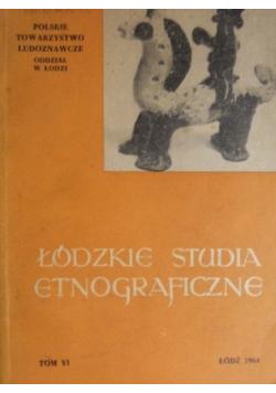 Łódzkie studia etnograficzne Tom VI