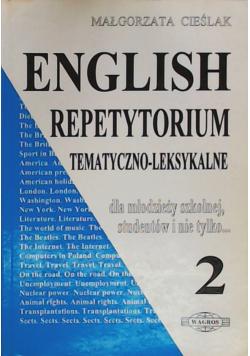 English repetytorium tematyczno  leksykalne 2