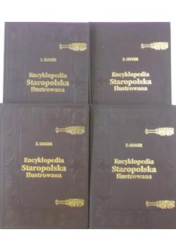 Encyklopedia staropolska ilustrowana, Tom I do IV reprint z około 1900 r