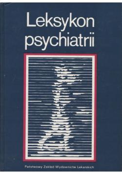 Leksykon psychiatrii