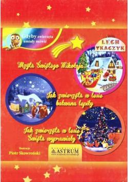Trzy bajki świąteczne + audiobook BR