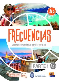 Frecuencias A2.1 podręcznik cz.1 + online