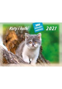 Kalendarz 2021 Rodzinny Koty i kotki WL9