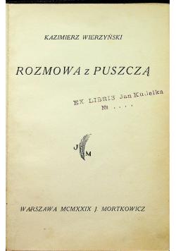 Rozmowa z puszczą 1929r