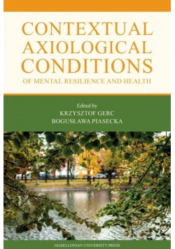 Contextual Axiological Conditions of Mental..