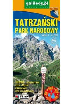 Mapa turystyczna - Tatrzański PN 1:27 500