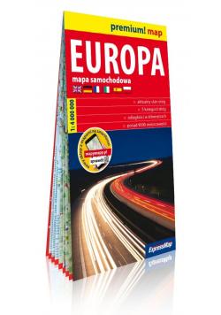 Europa mapa samochodowa 1:4 000 000