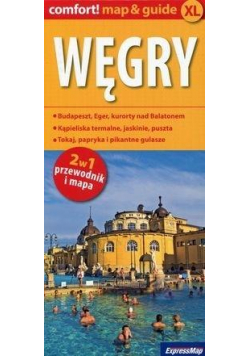 Comfort!map&guide XL Węgry 2w1 w.2019