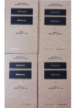 Focjusz Biblioteka 4 tomy