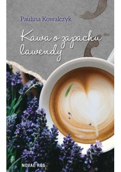 Kawa o zapachu lawendy