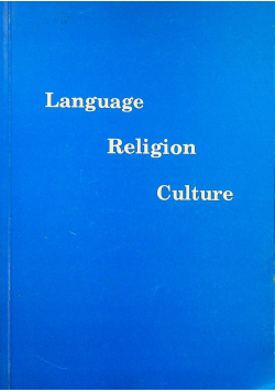 Language Religion Culture