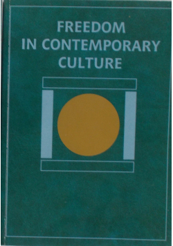 Freedom in contemporary culture, Tom I-II