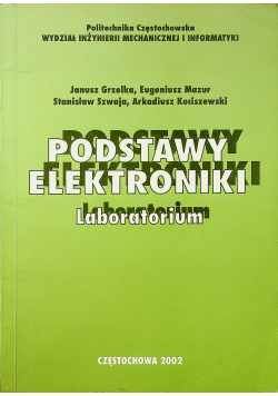 Podstawy elektroniki Laboratorium