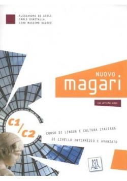 Nuovo Magari C1/C2 podręcznik + 2 CD