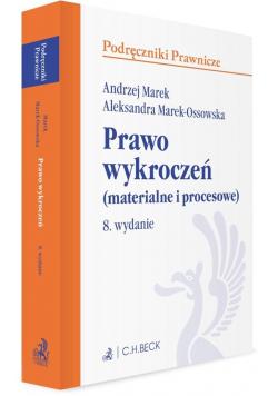 Prawo wykroczeń (materialne i procesowe) w.8