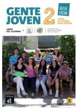 Gente joven 2 Nueva edicion Podrecznik + CD