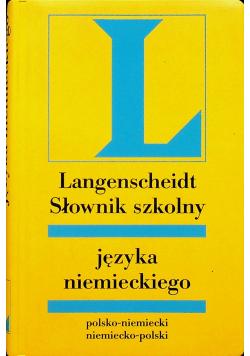 Langenscheidt słownik szkolny języka niemieckiego