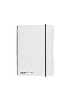 Notatnik A6/40K kratka My.BookF biały