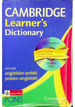 Cambridge Learners Dictionary Słownik angielsko polski polsko angielski