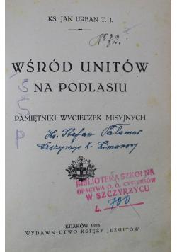 Wśród unitów na Podlasiu 1923 r