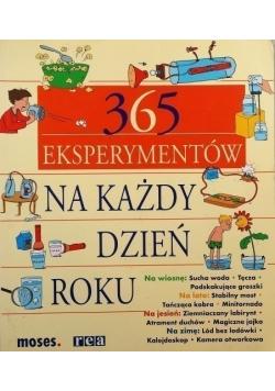 365 Eksperymentów na każdy dzień roku