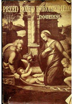 Nowenna przed Bożem Narodzeniem 1936 r.