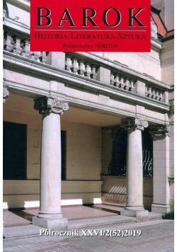 Barok. Historia-Literatura-Sztuka, nr 52, 2019