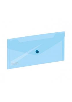 Koperta na zatrzask 254x130mm niebieska GRAND