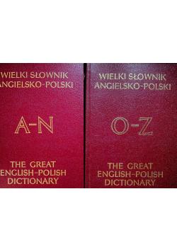 Wielki Słownik Angielsko - Polski 2 tomy