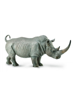 Nosorożec biały figurka