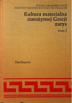 Kultura materialna starożytnej Grecji zarys, Tom II