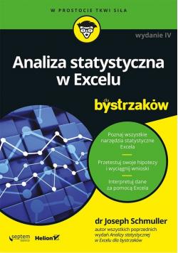 Analiza statystyczna w Excelu dla bystrzaków
