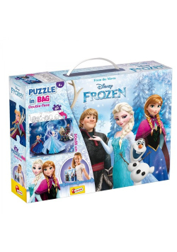 Puzzle Double-Face in bag 60 Frozen