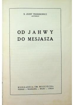Od Jahwy do Mesjasza 1936 r
