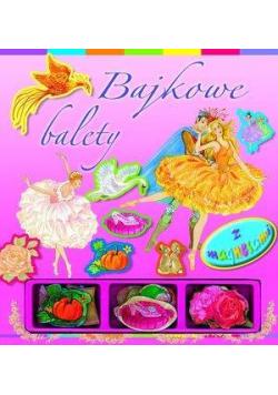 Bajkowe balety - książka z magnesami