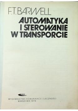 Automatyka i sterowanie w transporcie