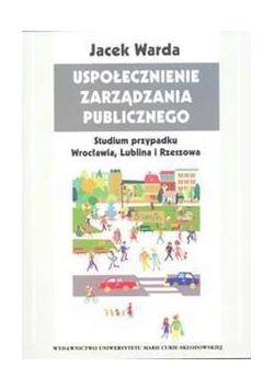 Uspołecznienie zarządzania publicznego