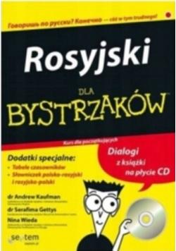 Rosyjski dla bystrzaków Kurs dla początkujących z płytą CD