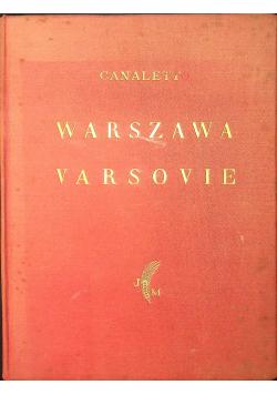 Warszawa w obrazach Bernarda Belotta Canaletta 1927 r