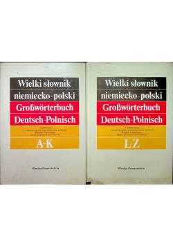 Wielki słownik niemiecko polski Tom I i II
