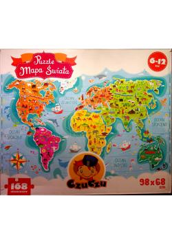 Puzzle Mapa świata