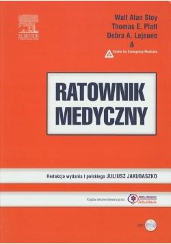 Ratownik medyczny z płytą DVD
