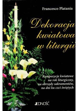 Dekoracja kwiatowa w liturgii